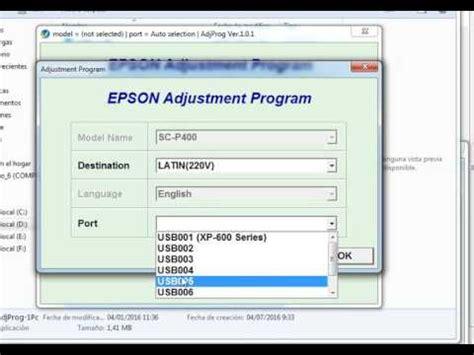 resetter l355 baixar reset epson l130 l220 l310 l360 l365 gratis keygen