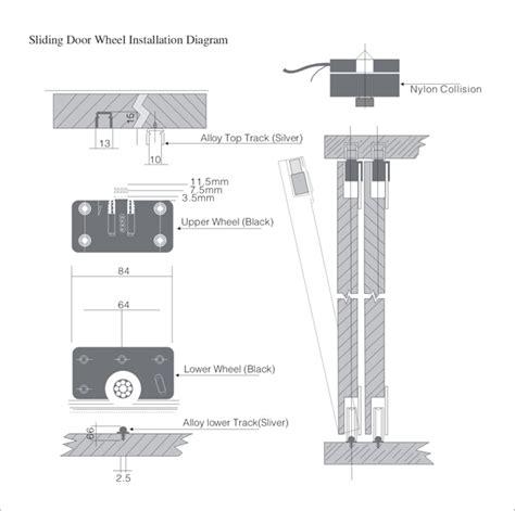 sliding closet door hardware installation how to install sliding door rollers jacobhursh