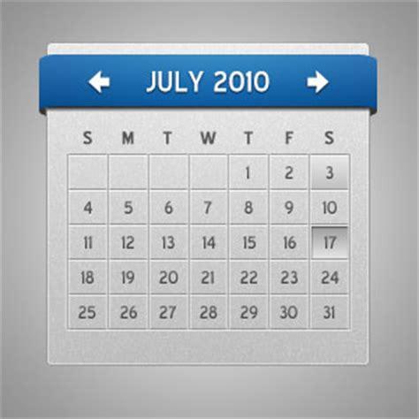 calendar psd template show calendar psd free