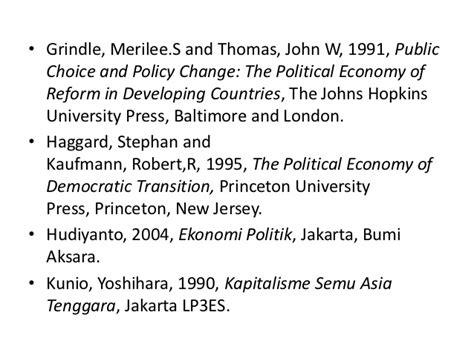 Kapitalisme Semu Asia Tenggara Yoshihara Kunio Pengantar Arief Budim ekonomi politik pembangunan agus suryono