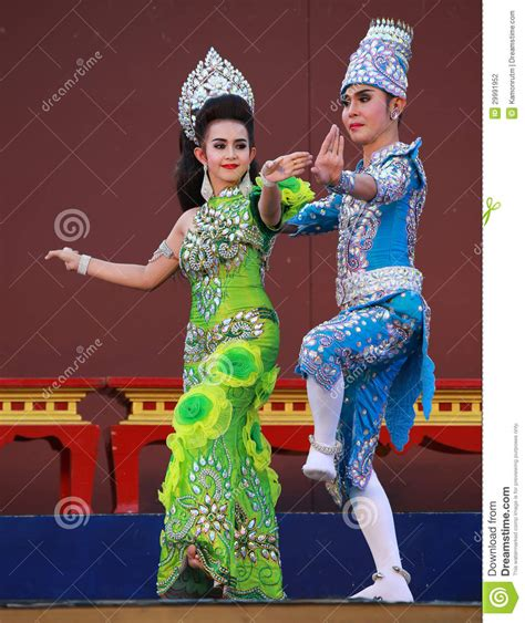 Dress Bangkok Bkk 0023 thai traditional dress editorial photography image 29991952