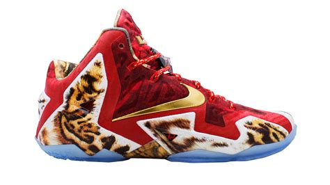 lebron james shoes nike reveals new lebron shoes won through nba 2k14 nba