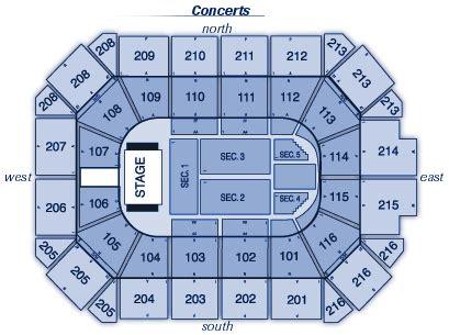 allstate arena seating chart concert allstate arena seating chart