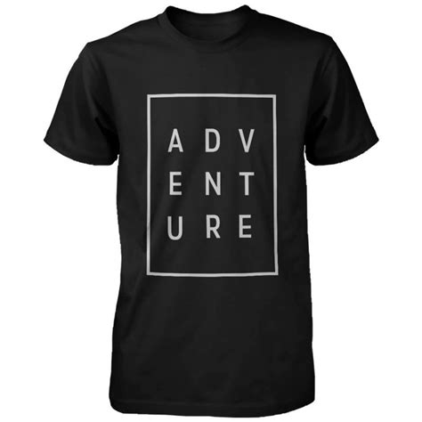 T Shirt Adventure 3 adventure typographic t shirt 187 petagadget