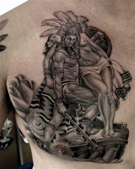 50 Of The Best Aztec Tattoos Tattoo Insider Aztec Tattoos For 2