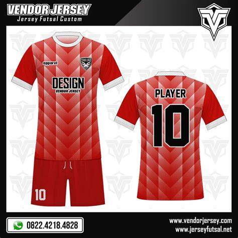 Kaos This Is Futsal Merah desain kaos futsal samehada vendor jersey futsal