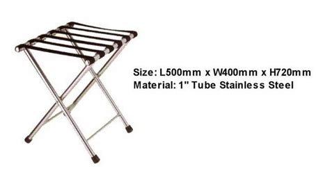 Luggage Rack Singapore stainless steel luggage rack for sale in singapore