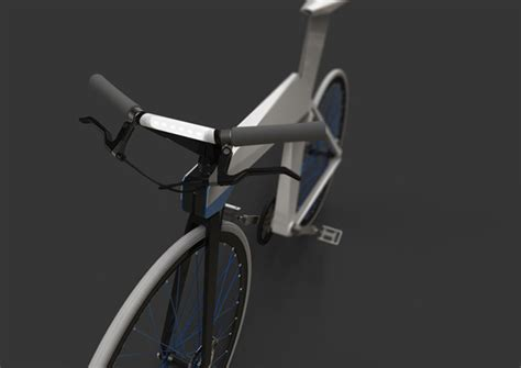 Origami Bike - origami bike yanko design