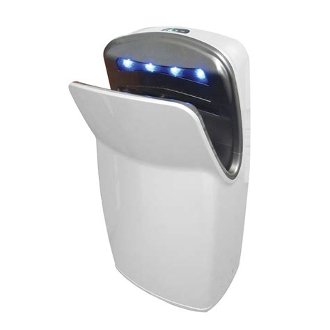 bathroom hand dryer jetdryer white executive bathroom hand dryer bunnings