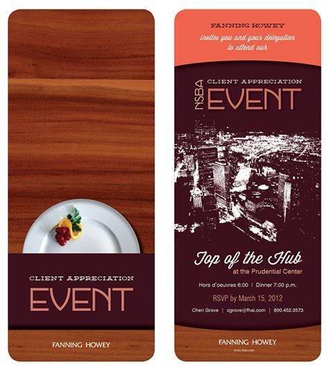 Client Appreciation Event Invitation On Behance Customer Appreciation Event Invitation Template