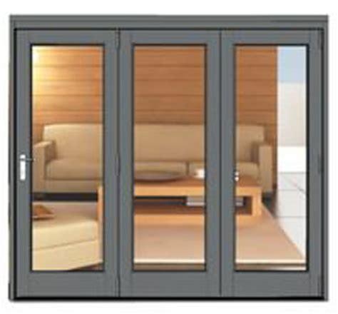 French Doors Upvc Prices - 2390 x 2090 grey aluminium bi folds folding doors 2 u