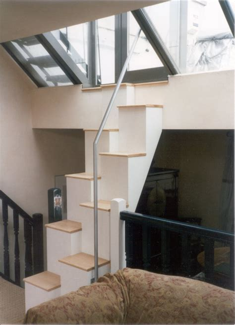 Space Saving Stairs Design Furniture And Accessories Uniquely Awesome Loft Space Saver Stair Design Ideas Cool Space