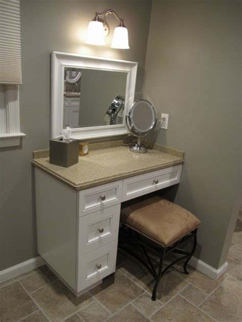Corner Make Up Vanity by Vanity For The Home