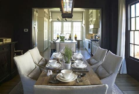Dining Room Place Settings Casual Chic Marianne Simon Design