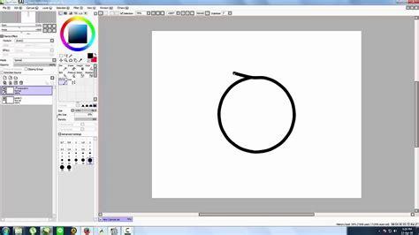 cara membuat paint tool sai version cara membuat lingkaran di paint tool sai versi on the spot