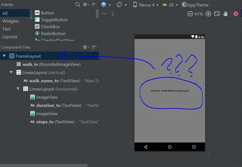 android studio linearlayout center android studio shows wrong layout in layout preview