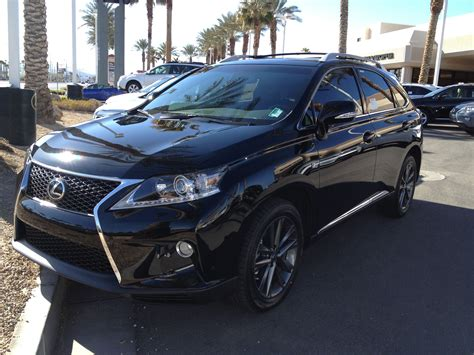 pimped lexus rx 350 lexus rx350 black with black rims my vehicle