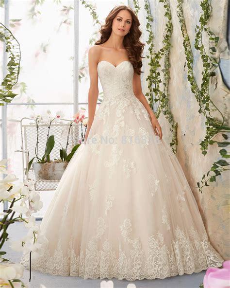 Lace Wedding Gowns by Vestidos De Novia 2016 Lace Country Western Wedding