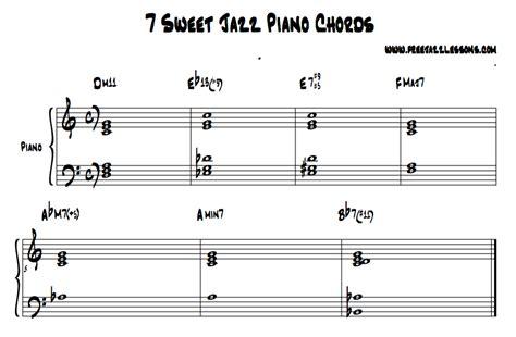 Piano Tutorial Jazz Chords | image gallery jazz piano