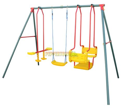 blue swing set hurricane 2000 by peppertown online store