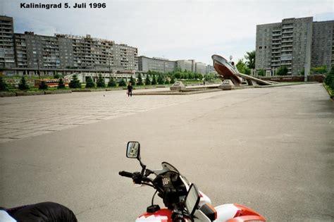 Mit Freundliche Grüßen Russisch Fahrt Durch Die Russische Enklave Kaliningrad Auf Meiner Motorradtour Russland 1996