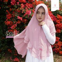Ramonna Dress Emmaqueen khimar saafia berry ori by sheika airy