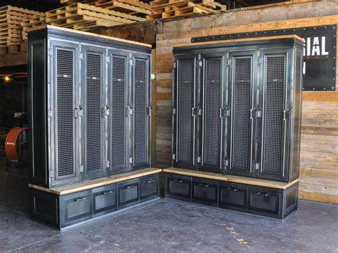 Repurpose Old Kitchen Cabinets by Country Club Locker Vintage Industrial Furniture