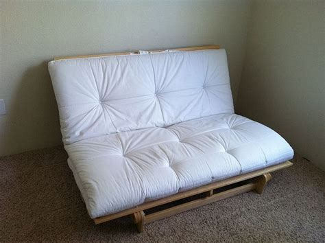 size futon white mattress futons