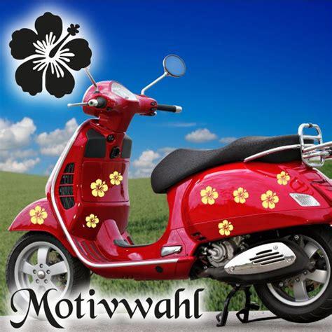 Aufkleber Vespa Roller by Hibiscus 24x Blumen Aufkleber F 252 R Vespa Roller Bike Qua