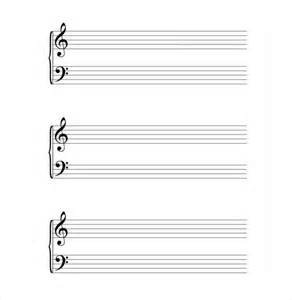 Musical Notes Template by Musical Note Template 9 Free Pdf Eps Format