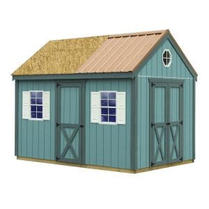best barns regency 8 ft x 12 ft wood storage shed with floor regency812f the home depot