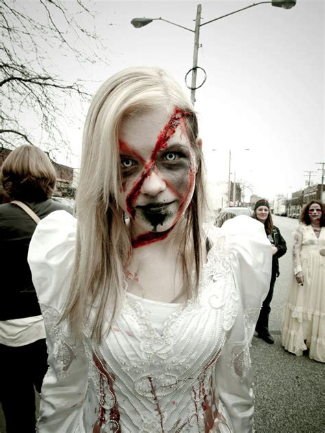 halloween hairstyles for vires zombie bride crazy wedding planning stories
