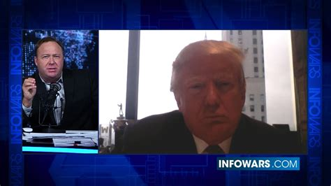 donald trump youtube channel alex jones donald trump bombshell full interview youtube