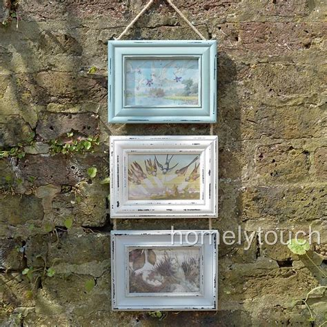 vintage style photo frame multi picture collage frames shabby chic heart frames ebay