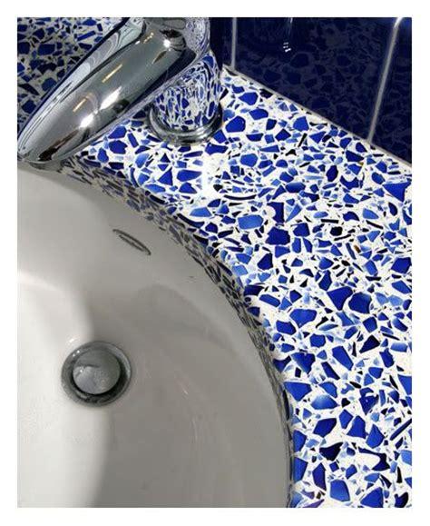 Cobalt Blue Quartz Countertop by Cobalt Bathroom Decor This