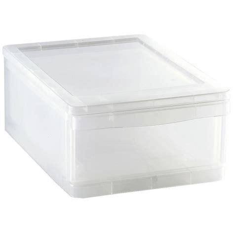 cajon de plastico caj 243 n organizador de pl 225 stico carrefour home 8 litros