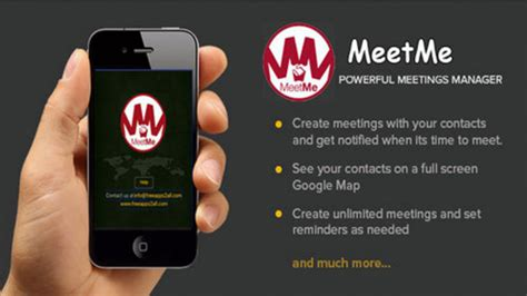 How To Search For On Meetme App Meetme Powerful Meeting Manager Freeapps2all