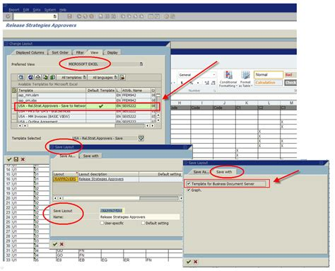 sap change layout view excel problems with excel inplace view after upgrading to 7 40