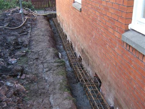 house underpinning domestic underpinning mg construction ltd