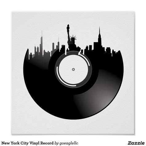 vinyl tattoo new york city vinyl record poster new york city