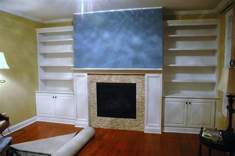 fireplace surrounds with bookcases handmade built in bookcases base cabinets and fireplace