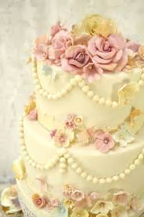 vintage wedding cakes shabby chic wedding cake cakecentral