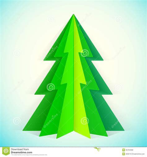printable green christmas tree template paper christmas tree stock vector image of label design