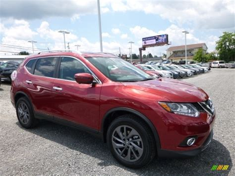red nissan rogue 2016 cayenne red nissan rogue sl awd 114050023 photo 10