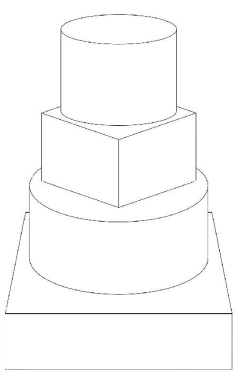 3 tier cake card template 129 best images about cake templates on