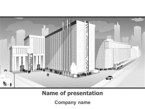 powerpoint templates free architecture city architecture presentation template for powerpoint and