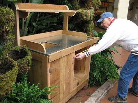 build potting bench build potting bench modern home interiors how to build