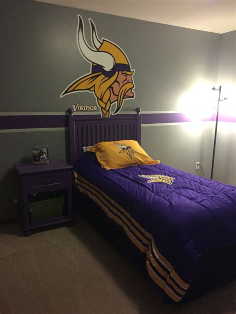 Viking Bedroom Decor by 35 Best My Vikings Room Ideas Images On