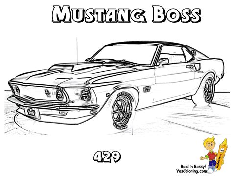 coloring page muscle cars brawny muscle car coloring pages on pinterest muscle