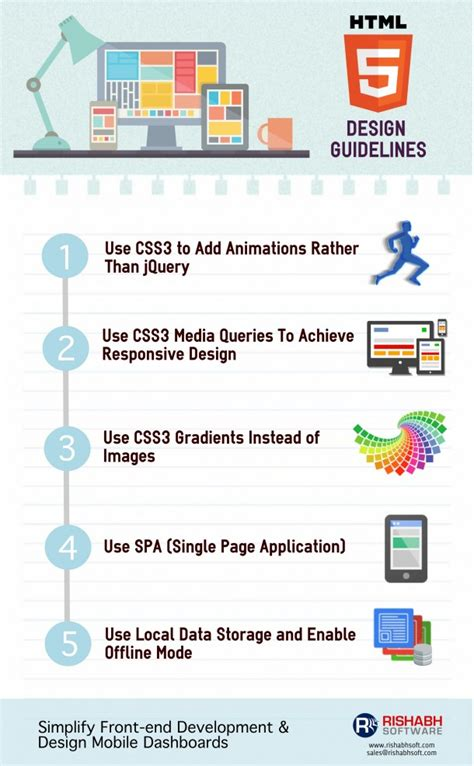 design html5 application html5 design tips for mobile web app developers